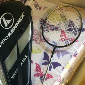 Badmintonketsjer, let i grebet, taske me - København - Badmintonketsjer, let i grebet, taske medfølger - København