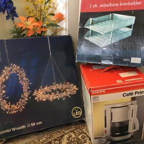 Kaffemaskine solgt Brevbakke Led lyskæd - Odense - Kaffemaskine solgt Brevbakke Led lyskæde - Odense