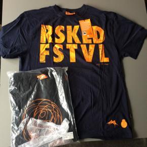 To stk ubrugte t-shirts fra Roskilde fes - København - To stk ubrugte t-shirts fra Roskilde festival år 2012 og 2013