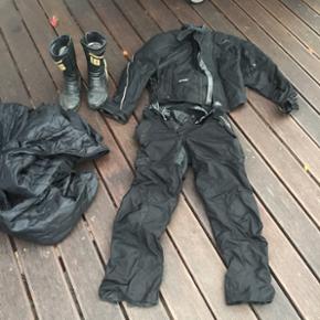 MC tøj til begynderen lynx med løst te - Kolding - MC tøj til begynderen lynx med løst termo støvlerne er meget brugte - Kolding