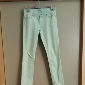 Mint green skinny jeans (size S/M) - Herning - Mint green skinny jeans (size S/M) - Herning