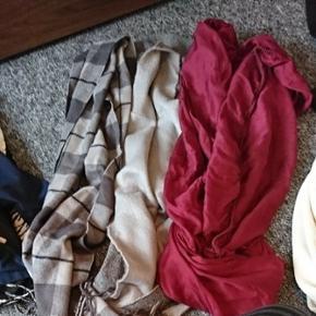 3 tørklæder - dejligt store - Silkeborg - 3 tørklæder - dejligt store - Silkeborg