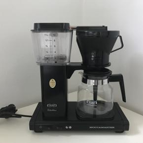 Kaffemaskine. Moccamaster, clubline. Bru - København - Kaffemaskine. Moccamaster, clubline. Brugt sparsomt. Flot design. - København