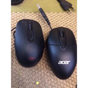 Computer udstyr sælges 2 stk mus (en fr - Århus - Computer udstyr sælges 2 stk mus (en fra Acer og en fra packard bell) 2 stk tastatur (et fra Acer og et fra packard bell) Kom med bud - Århus