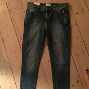 Fiveunits jeans i str. 28 aldrig brugt.  - København - Fiveunits jeans i str. 28 aldrig brugt. Style Penelope zip. Nypris 799 - København