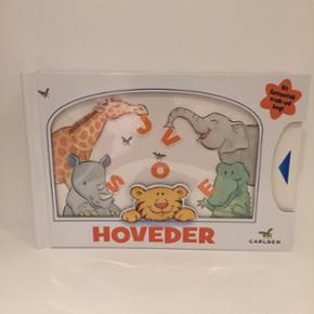 Sjove hoveder børnebog der er træk ud  - København - Sjove hoveder børnebog der er træk ud og ind bog