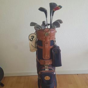 Golfbag med køller, bolde og tees. - Esbjerg - Golfbag med køller, bolde og tees. - Esbjerg