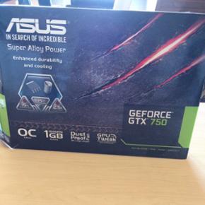 Asus GeForce GTX 750, grafik-kort. Kun l - Hjørring - Asus GeForce GTX 750, grafik-kort. Kun lidt brugt. - Hjørring