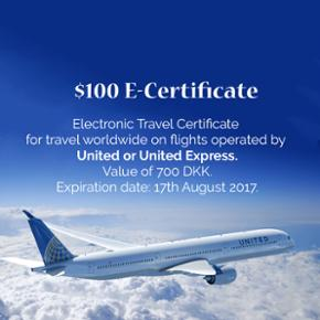 Electronic code can be used for booking  - København - Electronic code can be used for booking online or on the phone for any flights operated by United or United Express worldwide. - København