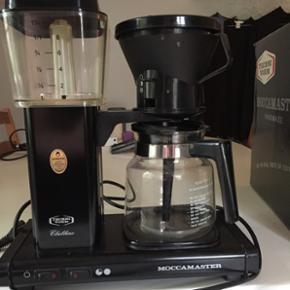 MoccaMaster Kaffemaskine med originalkas - Odense - MoccaMaster Kaffemaskine med originalkasse til. To revner i filterlåget, men virker upåklageligt. Nypris: 995,- - Odense