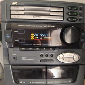 JVC stereoanlæg til cd'er og bånd - by - Esbjerg - JVC stereoanlæg til cd'er og bånd - byd - Esbjerg