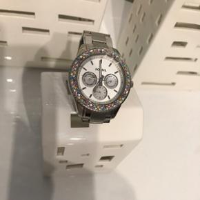 Fossil dame ur med aftagelige link. Brug - Aalborg  - Fossil dame ur med aftagelige link. Brugt ganske få gange BYD - Aalborg