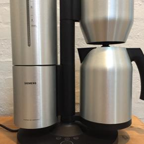 Siemens Porsche kaffemaskine. Rustfri st - Herning - Siemens Porsche kaffemaskine. Rustfri stål. Fin stand uden ridser osv. Et åben for bud. Nypris 1995,-kr - Herning