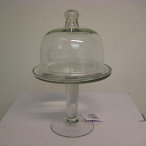 Glass opbevaringsskål på fod. Nye vare - Horsens - Glass opbevaringsskål på fod. Nye varer. 60 kr - Horsens