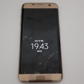 Samsung Galaxy S7 edge i guld, 32 GB, 1  - Roskilde - Samsung Galaxy S7 edge i guld, 32 GB, 1 år gammel, fejler intet, i god stand uden ridser - Roskilde