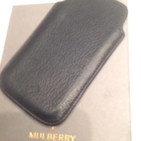 Mulberry cover til Iphone 5/5S, sort - Næstved - Mulberry cover til Iphone 5/5S, sort - Næstved