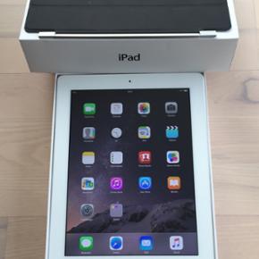 Super velholdt iPad 4,16GB,Wifi Ingen ri - Vejle - Super velholdt iPad 4,16GB,Wifi Ingen ridser eller skrammer i skærm Med kasse,oplader og smart cover - Vejle