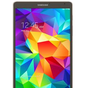 Samsung, Galaxy Tab S, 8.4 tommer, 16 GB - København - Samsung, Galaxy Tab S, 8.4 tommer, 16 GB, Perfekt Min mans sælger sin Samsung Galaxy Tab S, den er i perfekt stand. Kommer med hvid-case/bluetooth keyboard som man kan se på billedet. Kommer med to opladere (EU/US) - Samsung mærke. Købt i - København