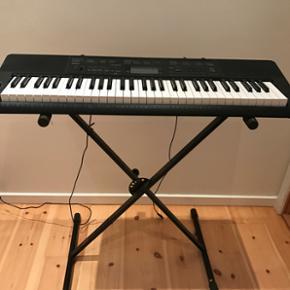 Keyboard CTK-3200 med stativ. NP 1400kr - Fredericia - Keyboard CTK-3200 med stativ. NP 1400kr - Fredericia