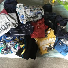 Børnetøj til dreng Str 98, 104 og 110  - Holstebro - Børnetøj til dreng Str 98, 104 og 110 3 t-shirts 1 par bukser 7 trøjer - Holstebro