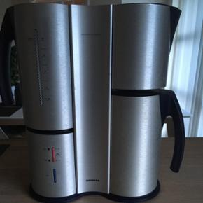 """Siemens kaffemaskine """"Porsche design"""". N - Fredericia - Siemens kaffemaskine """"Porsche design"""". Np 1000 kr - Fredericia"""