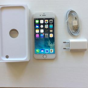 IPhone 6 - 64 gb Perfekt iPhone med pans - Herning - IPhone 6 - 64 gb Perfekt iPhone med panserglas, incl. oplader og kasse! - Herning