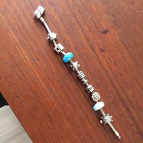 Pandora armbånd med 10 led, mit håndle - Aalborg  - Pandora armbånd med 10 led, mit håndled er 16 cm- BYD - Aalborg