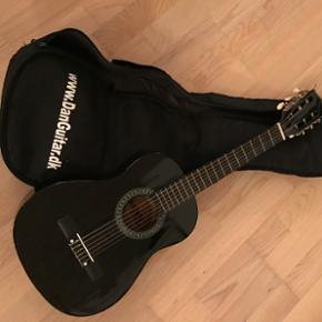 Guitar fra Danguitar. Rigtig fin begynde - Aalborg  - Guitar fra Danguitar. Rigtig fin begynder guitar med nylonstrenge. Taske medfølger. - Aalborg