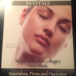 Revitale Royal Jelly and Collagen Face M - Århus - Revitale Royal Jelly and Collagen Face Mask BYD - Århus