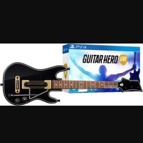 Guitar Hero Live til PS4. Kun brugt et p - Aalborg  - Guitar Hero Live til PS4. Kun brugt et par timer.