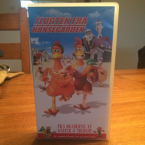 VHS film- flugten fra hønsegården. - Hillerød - VHS film- flugten fra hønsegården. - Hillerød