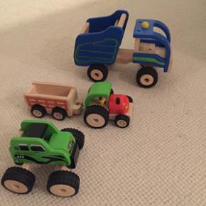 Kids Wood trælegetøj Lastbil Truck Tra - København - Kids Wood trælegetøj Lastbil Truck Traktor 45kr stykket, 3 for 125kr - København