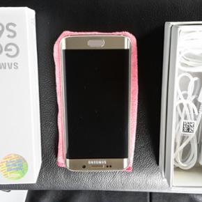 Samsung galaxy s6 edge til salg uden nog - København - Samsung galaxy s6 edge til salg uden nogen form for ridser næsten ikke brugt. Grundet køb af anden telefon kort efter. - København