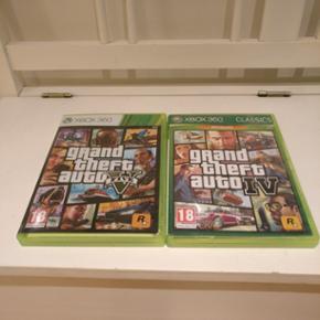 GTA 4 & 5 til Xbox 360 - Esbjerg - GTA 4 & 5 til Xbox 360 - Esbjerg