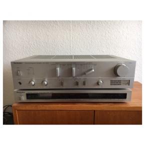 Techics anlæg med radio sælges sammen  - København - Techics anlæg med radio sælges sammen med Yamaha højtaler. Fungere rigtig fint og har rigtig god lyd. - København