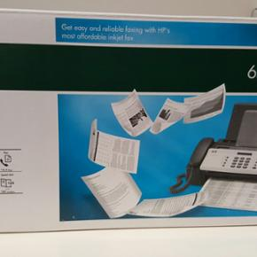 Ny HP 650 fax. aldrig brugt - Aalborg  - Ny HP 650 fax. aldrig brugt - Aalborg