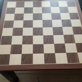 Smukt skakbræt i træ. 45×45. - København - Smukt skakbræt i træ. 45×45. - København