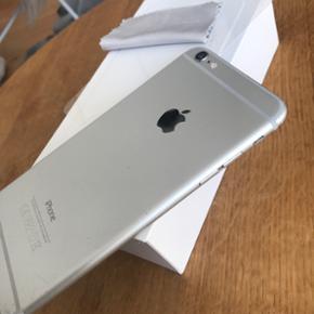 IPhone 6 plus, 16 GB. Fejler intet, virk - København - IPhone 6 plus, 16 GB. Fejler intet, virker uden problemer. Kasse + oplader medfølger, men uden høretelefoner. Skærmen trænger til at blive skiftet og derfor er prisen også 900kr billigere end ellers, med henblik på at folk vil bruge pen - København
