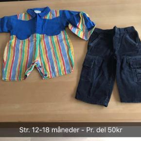 Helt nyt børnetøj - Det er kollektions - Randers - Helt nyt børnetøj - Det er kollektionsprøver fra designer - Pris pr. del 50kr