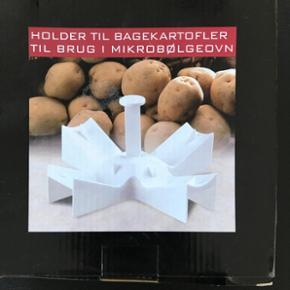 Holder til bagekartofler til brug i mikr - Esbjerg - Holder til bagekartofler til brug i mikrobølgeovn, helt ny. - Esbjerg