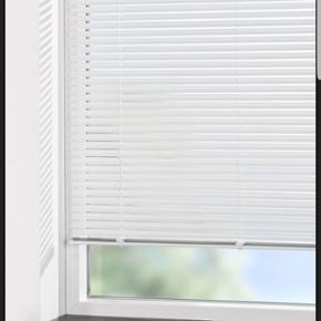 Aluminium blind persienner fra Jysk. 100 - Århus - Aluminium blind persienner fra Jysk. 100×130cm i hvis farve. Uåbnet og dermed aldrig brugt. Byd - Århus