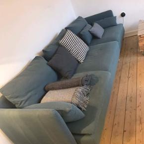 2 måneder gammel sofa fra IKEA. Modelle - Aalborg  - 2 måneder gammel sofa fra IKEA. Modellen hedder Söderhamn. Mål: 285 lang 90 bred 70 høj Fra ikke-ryger hjem. Nyprisen var 5758. Kvittering haves. - Aalborg