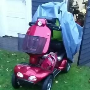 4 hjulet el scooter Pro City. Regnslag.  - Viborg - 4 hjulet el scooter Pro City. Regnslag. Rollatorstativ - Viborg