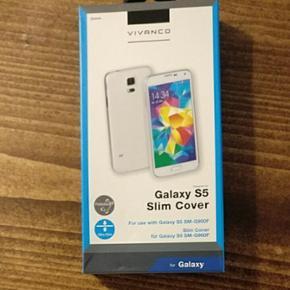 Transparent cover til Samsung Galaxy S5  - København - Transparent cover til Samsung Galaxy S5 fra Vivanco - København