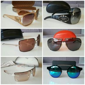 Designer sunglasses. All genuine. Sellin - København - Designer sunglasses. All genuine. Selling these as have too many :-) Gucci, Prada, Dolce & Gabbana, Valentino, Dior, Spitfire Only serious offers please. No exchange for other things. - København