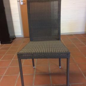 Cane-Line havemøbler. Granitbord 1x1m.  - København - Cane-Line havemøbler. Granitbord 1x1m. og 6 stole med hynder sælges. Rigtig god stand. - København