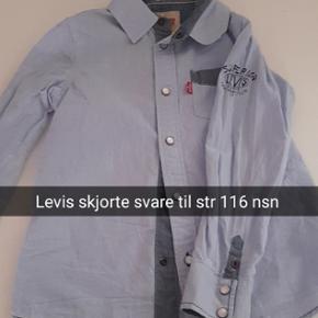 Levis skjorte svare til en str 116. Nsn - Horsens - Levis skjorte svare til en str 116. Nsn - Horsens