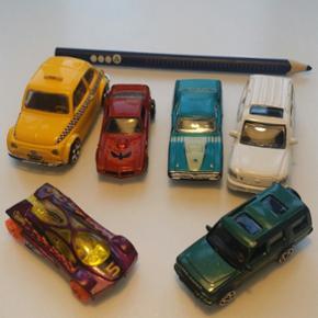 6 små biler. God stand - København - 6 små biler. God stand - København