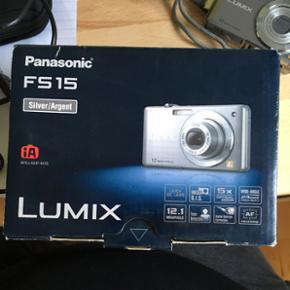 Panasonic kamera med batteri lader, kame - Aalborg  - Panasonic kamera med batteri lader, kamera taske, USB stik til og få billederne over på pc samt SD kort på 2 GB. Fejler ingen ting - Aalborg