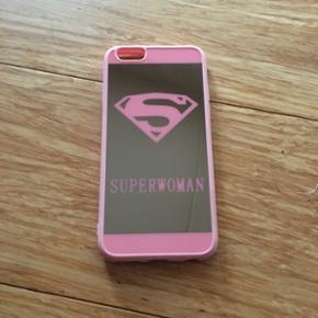 Iphone cover med superwoman logo passer  - Holbæk - Iphone cover med superwoman logo passer til 6/6s - Holbæk